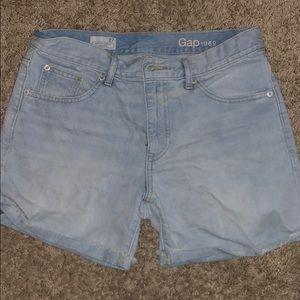 Pants - Gap denim boyfriend shorts, size 27